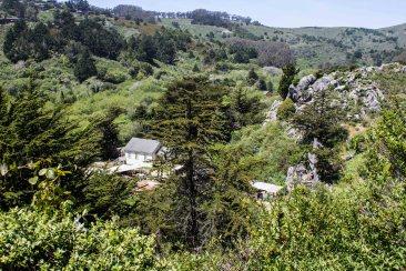 Dias Ridge Trail. Dawn Page/Coastside Slacking