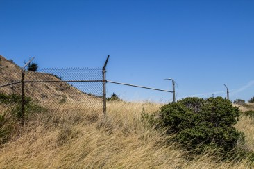 Nike missile compound, Angel Island State Park. CoastsideSlacking/Dawn Page