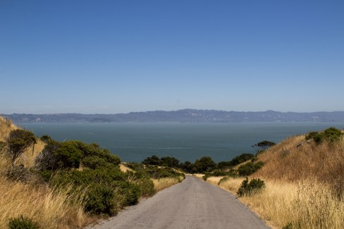 Perimeter Trail, Angel Island State Park. Dawn Page/Coastside Slacking