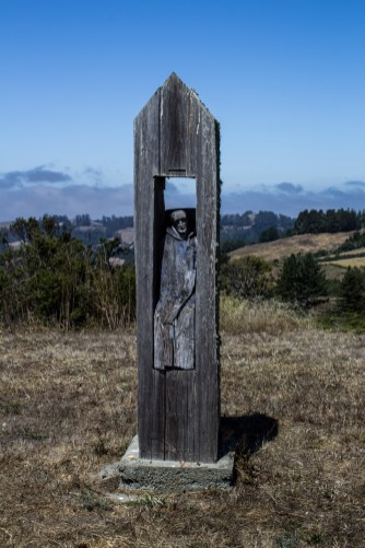 The Work (2004) by Alfred Bosch. Photograph by Dawn Page/CoastsideSlacking