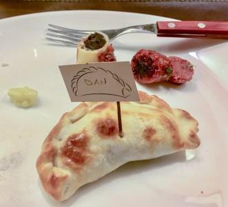 Do-it-yourself empanada at the Argentine Experience. Coastside/Slacking