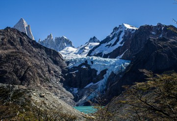 Mount Fitz Roy massif, Los Glaciares National Park, Argentina. Dawn Page/CoastsideSlacking