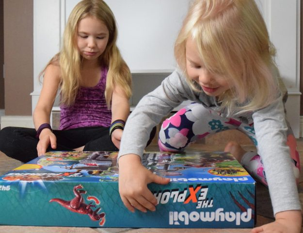 Encouraging play with kids of different ages