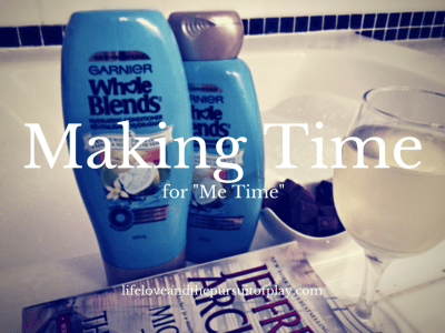 """Making Time for """"Me Time"""" - featured"""