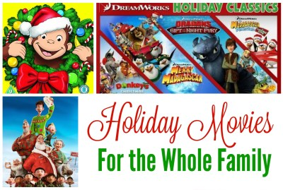 Top Holiday Movies for the whole family - cropped