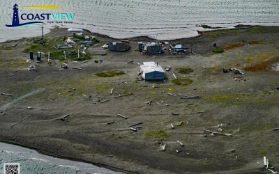 Griffin Point Fish Camp, Beaufort Sea