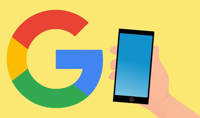 Image: online communication tools: Google, mobile