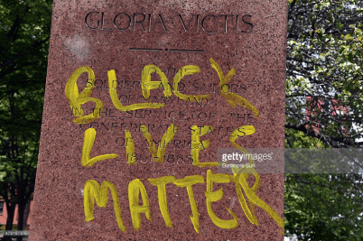 http://media.gettyimages.com/photos/black-lives-matter-is-written-in-yellow-on-the-base-of-the-soldiers-picture-id478167876