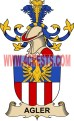 agler coat of arms family crest