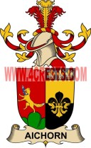 aichorn coat of arms family crest