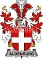 aldenburg coat of arms family crest