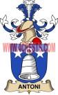 antoni coat of arms family crest