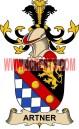 artner coat of arms family crest