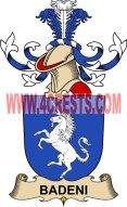 badeni coat of arms family crest