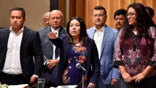 Recibe LXV Legislatura comparecencia de Ana Laura Pérez ...