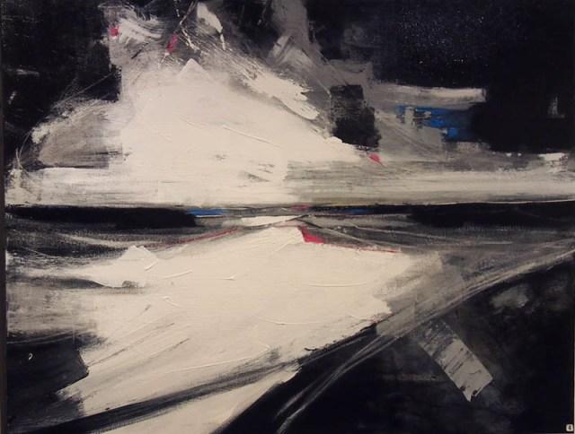 Irene Wilkes The Sound of the Sea 80x100cm; Acrylics, oils, mixed media £170
