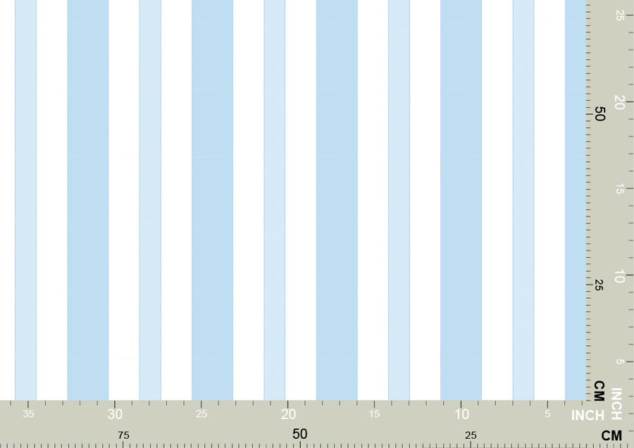 Baby Blue Striped Wallpaper COUNTESS Of BERLIN
