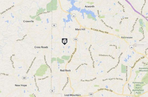 starr-lake-acworth-map-neighborhood-location