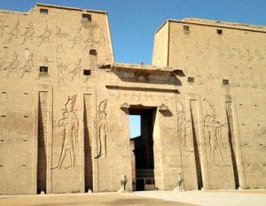 The temple at Edfu
