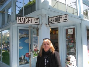 Standing at the corner of Haight and Ashbury