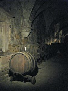 Wine cellar at Kloster Eberbach