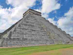 The most visited site in Mexico - the El Castillo at Chichen Itza