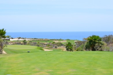 The views are spectacular at Puerto Los Cabos course