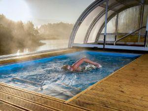ejercicio en piscina