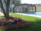 Cobertura móvil para piscina