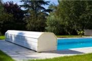 El banco de larga durabilidad para la cobertura de la piscina