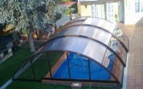 Cubierta de piscina económica