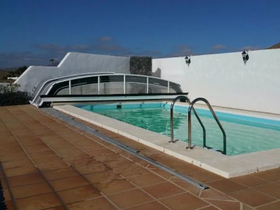 Cubierta de aluminio en Ibiza