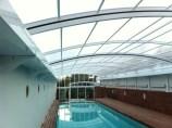 Canales de acero inoxidable para recogida de aguas en piscina