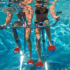 ciclismo en piscina