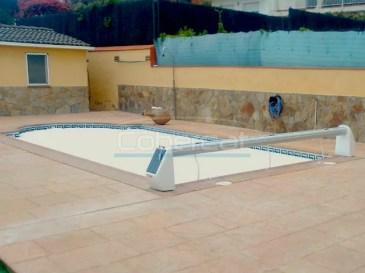 cobertor piscina sin instalacion