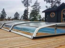 cubierta baja piscina