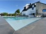 cubierta enrollada fondo piscina