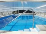 cubierta piscina discreta