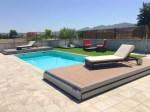 cubierta piscina pisable
