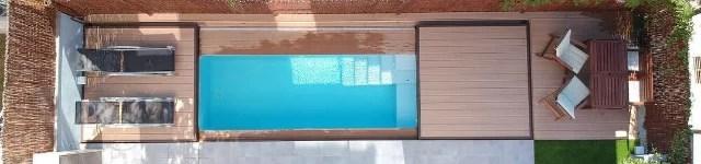 plataforma para piscina