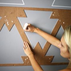 Oggi il mercato offre tanti tipi di pitture murali ed. Pitture Geometriche Sulle Pareti Non Il Solito Colore Cobimbo
