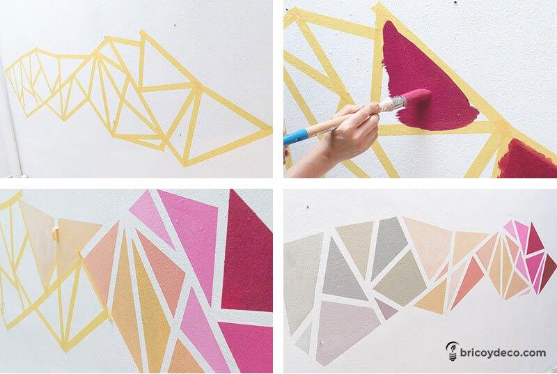 La pittura esterna conferisce prestigio all'abitazione, nella scelta del colore, oltre a tenere bene presente i propri gusti, bisogna guardare. Pitture Geometriche Per Le Pareti Nuove Idee Da Scoprire Cobimbo