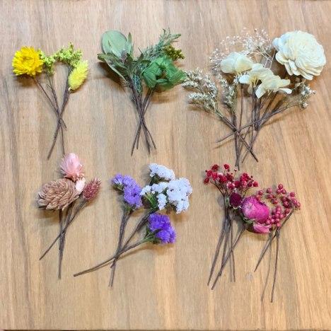 北九州 お花の髪飾り