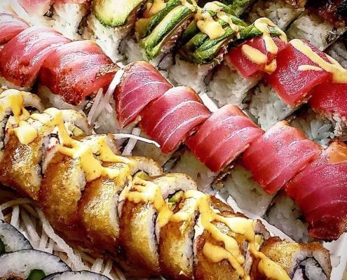 sushi rolls