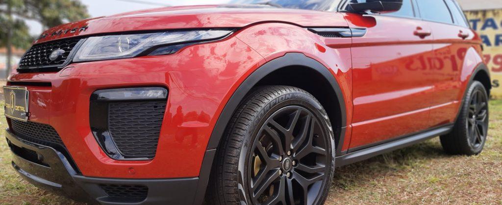Projeto Range Rover Evoque Cobra Detail Estética Automotiva