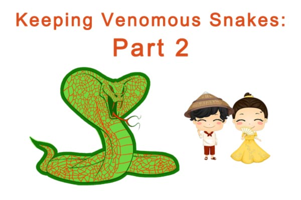 Snake Handling Equipment Hots 101 Part 2 Cobras