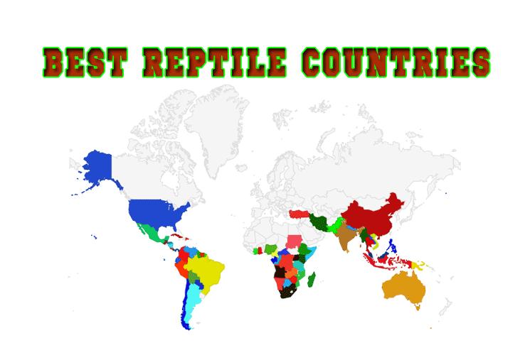 Map best reptile habitat in the world cobras reptile habitat gumiabroncs Gallery