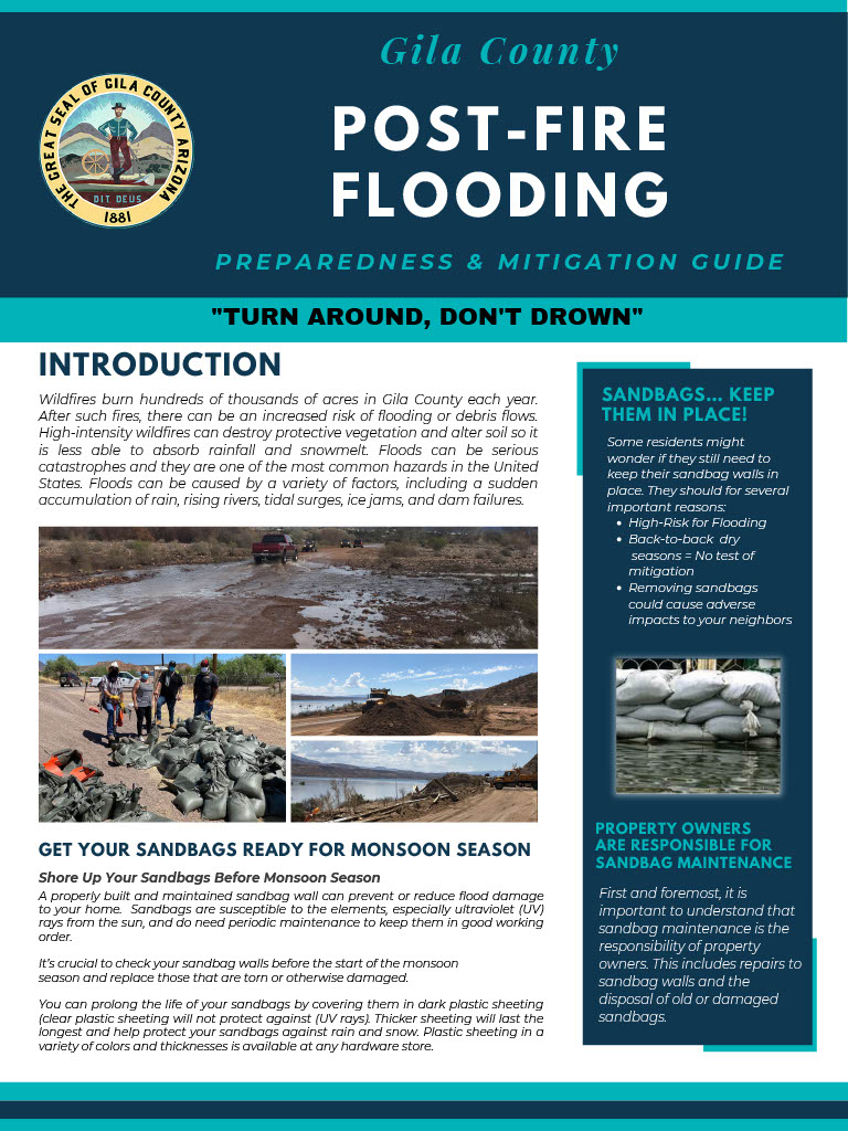 Link to post-fire flooding instructional document
