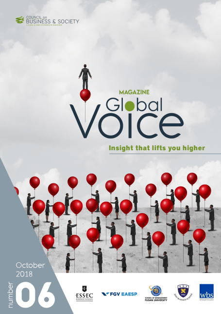 Tom Gamble and Global Voice magazine. Global Voice magazine #6 – Insight that lifts you higher – is now available for download.