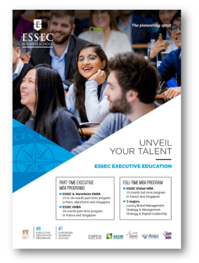 ESSEC GMBA and EMBA degrees